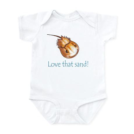 Love that sand! Infant Bodysuit