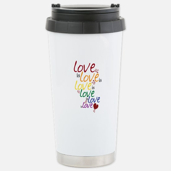 Love is Love (Gay Marriage) Stainless Steel Travel