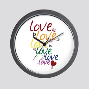 Love is Love (Gay Marriage) Wall Clock