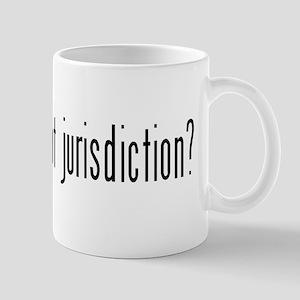 got jurisdiction? Mug