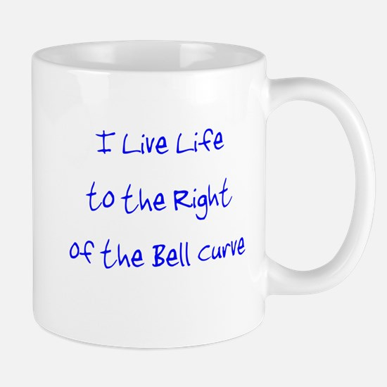 Right of the Bell Curve Mug