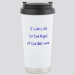Right of the Bell Curve Stainless Steel Travel Mug