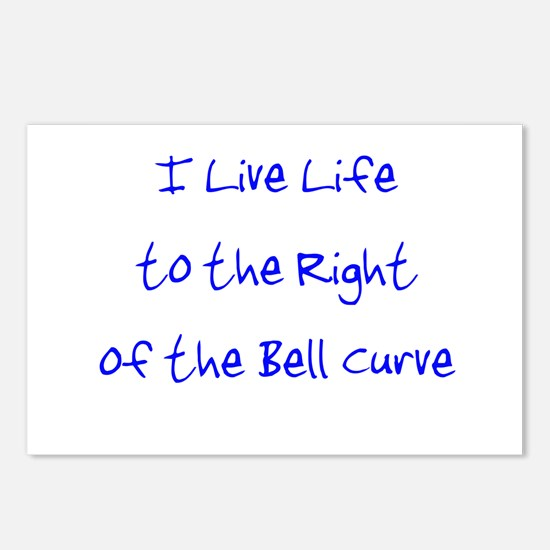Right of the Bell Curve Postcards (Package of 8)