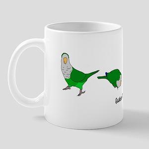 Quaker Parakeets Mug