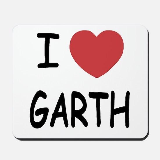 I heart Garth Mousepad