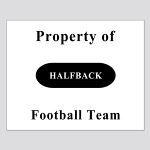 Halfback Small Poster