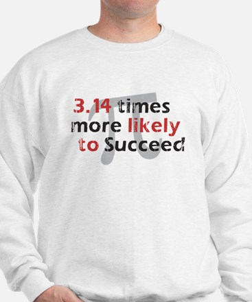 Pi Success Funny Math Sweatshirt