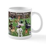 Canine Cancer Heroes Mug