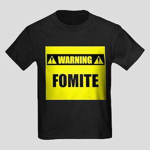WARNING: Fomite Kids Dark T-Shirt
