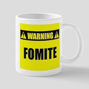 WARNING: Fomite Mug
