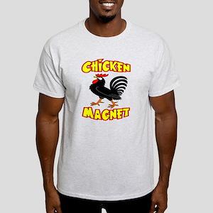 Chicken Magnet Light T-Shirt