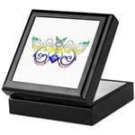 The Star over the Square Keepsake Box