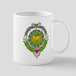 Celtic Cat 8 Mandala Mug