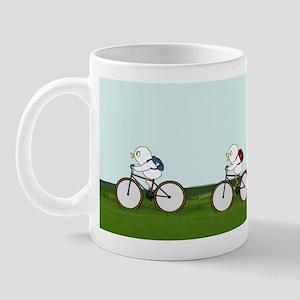 Biking Through the Prairie Mug