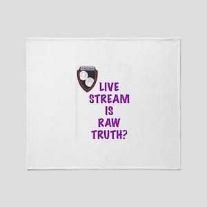 Raw Truth? Throw Blanket