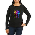 Skater Gurlz Women's Long Sleeve Dark T-Shirt