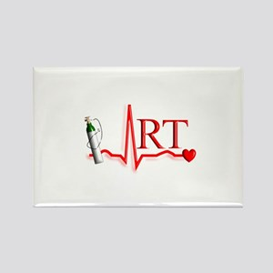 Respiratory Therapy 8 Rectangle Magnet