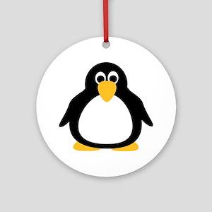 Penguin Ornament (Round)