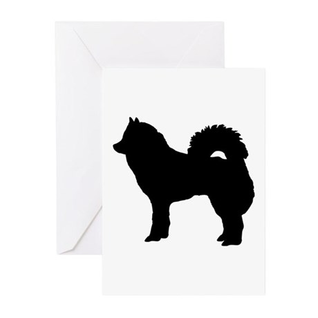Eurasian dog Greeting Cards (Pk of 20)