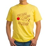 Get Your Ass To Mars Yellow T-Shirt