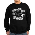 Get Your Ass To Mars Sweatshirt (dark)