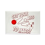 Get Your Ass To Mars Rectangle Magnet (10 pack)