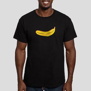 Banana Men's Fitted T-Shirt (dark)