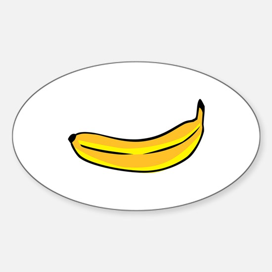 Banana Sticker (Oval)