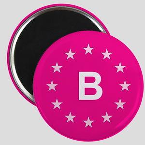 EU Pink Belgium Magnet
