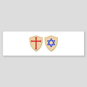 Zionist Crusader Sticker (Bumper)