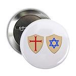 """Zionist Crusader 2.25"""" Button (100 pack)"""