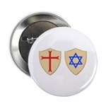 """Zionist Crusader 2.25"""" Button (10 pack)"""