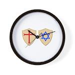 Zionist Crusader Wall Clock