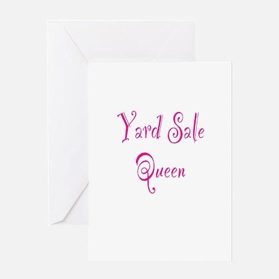 Yard Sale Queen Greeting Card