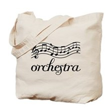 Musical Orchestra Tote Bag