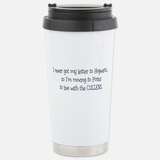 Moving to Forks Stainless Steel Travel Mug