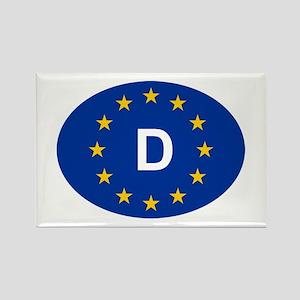 EU Germany Rectangle Magnet