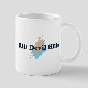 Kill Devil Hills NC - Seashells Design Mug