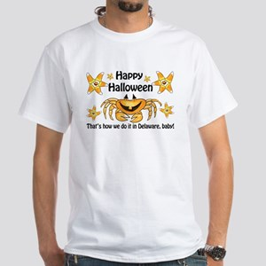 Delaware Halloween party White T-Shirt