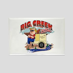 Big Creek BBQ Rectangle Magnet (10 pack)