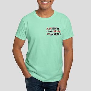 Pi Success Funny Math Dark T-Shirt