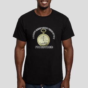 I'm Retired Men's Fitted T-Shirt (dark)