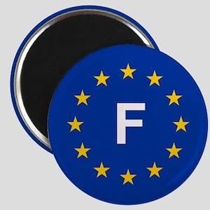 EU France Magnet
