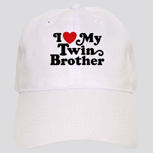 I Love My Twin Brother Cap