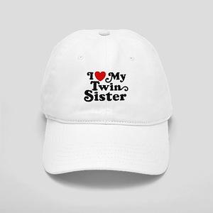 I Love My Twin Sister Cap