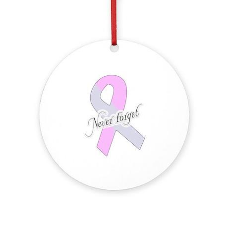 Never Forget! Pregnancy & Infant Loss Ribbon Ornam