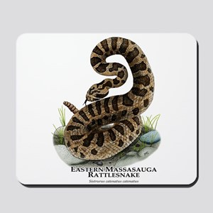 Eastern Massasauga Rattlesnake Mousepad