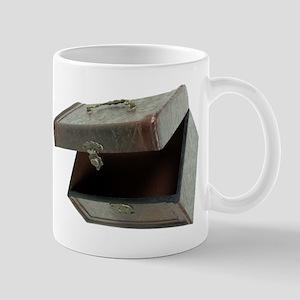 Top Leather Box Mug