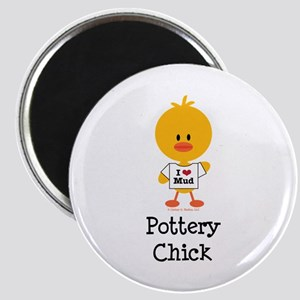 Pottery Chick Magnet