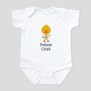 Pottery Chick Infant Bodysuit